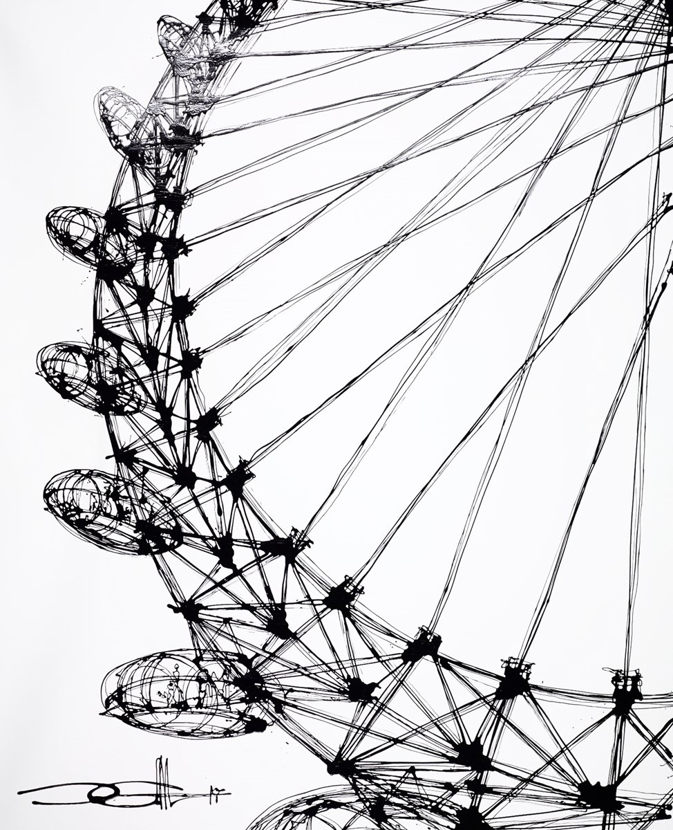 Skyward at the Eye